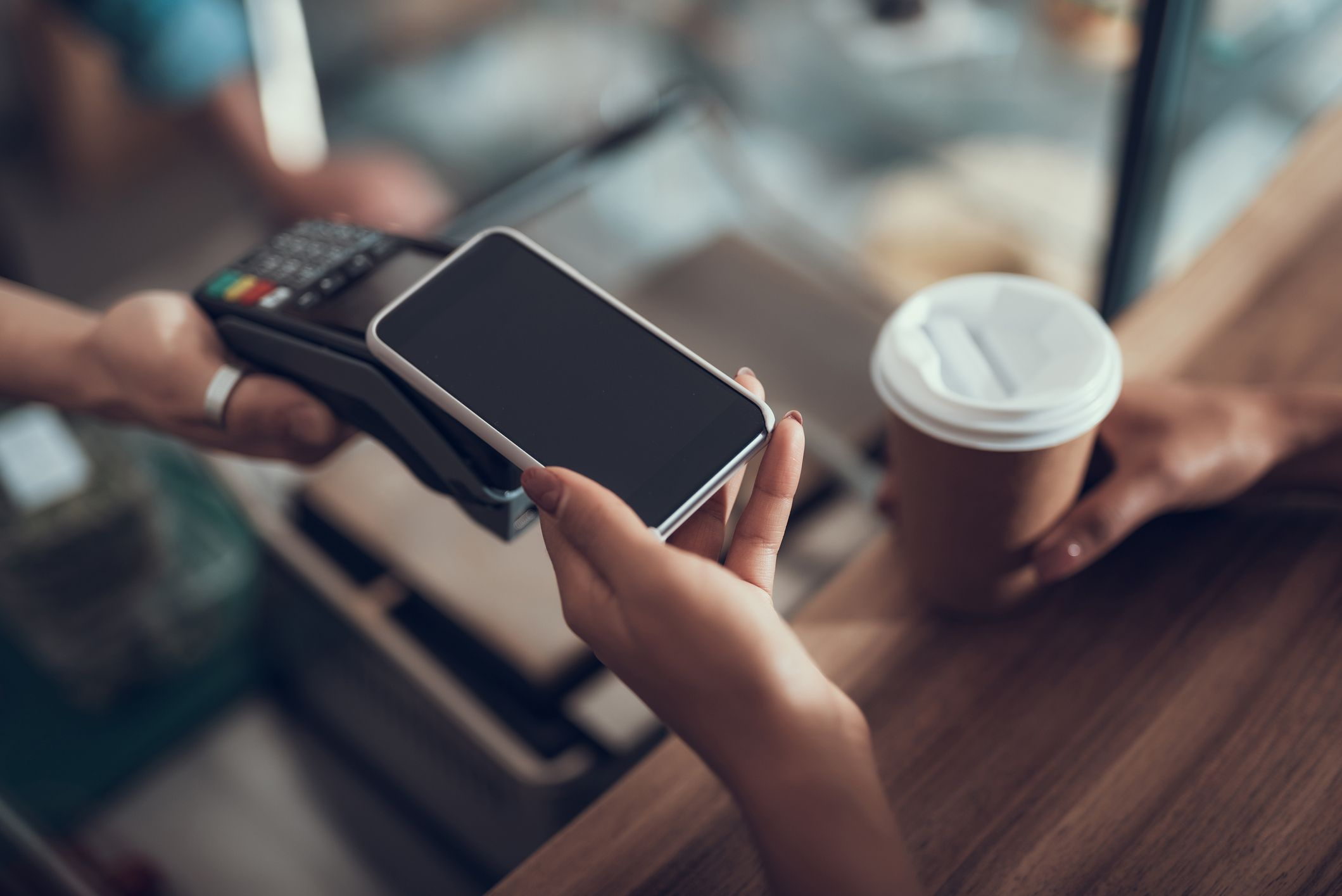 Point of sale with phone wireless